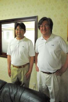 蔵元駄文-大井社長と俊二さん