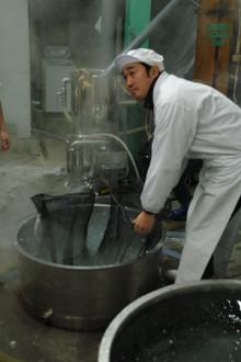 蔵元駄文-洗米ちゅうこーえーくん