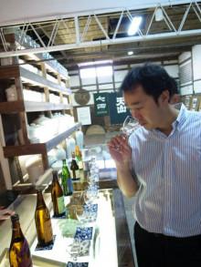 蔵元駄文-バーで利き酒